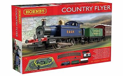 Hornby R1188 Country Flyer Model Train Set OO Gauge New Sealed