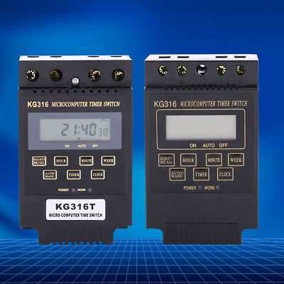 New Quality AC 110V/220V Time Relay Switch KG316T Digital LCD Programmable Timer