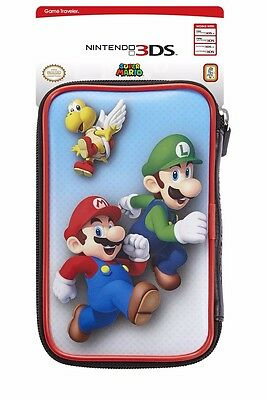 Mario / Luigi Nintendo New 3DS / 3DS XL Case - Protector Case and Holds Games