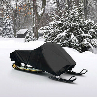 """New Trailerable Snowmobile Sled Cover Fits Up To 125"""" L All Weather Protection"""