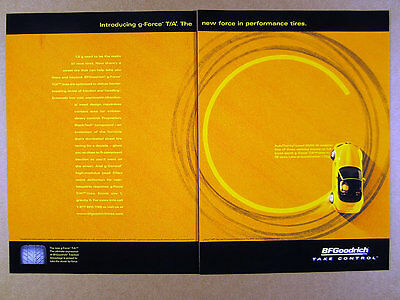 1999 BMW M Roadster photo BF Goodrich g-Force T/A Tires vintage print Ad