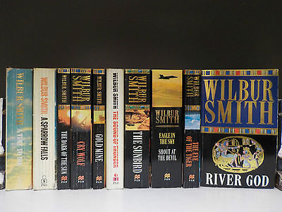 Wilbur Smith - 10 Books Collection! (ID:46034)