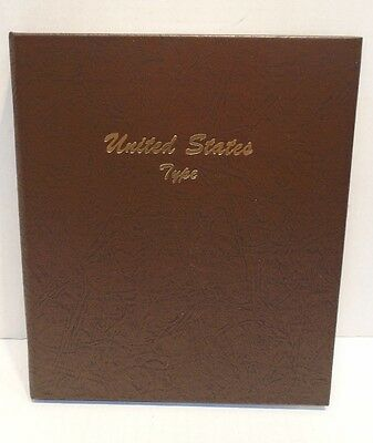 Dansco Coin Album 7070 United States Type Major Coins From 1800 & Up U.S. 1900