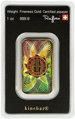 1 oz .9999 Gold Bar - Swiss Gold w/ Hologram Sealed in Assay #A314
