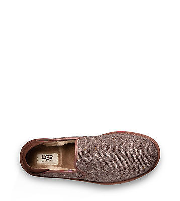 UGG Mens Cooke Donegal Grizzly Slipper Size 7 M New in Box