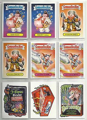 2017 Garbage Pail Kids/Wacky Packages PHILLY Complete Set 9 Stickers LTD to 300