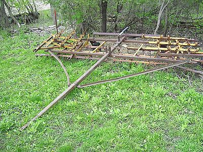Pull type Field spring tooth/drag/with wheels/Cultivator/farming/ hobby farming/