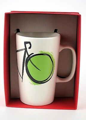 Starbucks Bicycle Art DOT Collection Coffee Mug 16 oz Biker Cycling Collectible