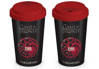 Game of Thrones (House Targaryen) Travel Mug MGT22870 - 12oz/340ml