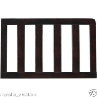 Fisher Price Toddler Guard Rail, Espresso BROWN NEW 18993303.006 BED BABY