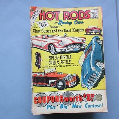 Hot Rods and Racing Cars 51 GD/VG  SKUB22704 25% Off!