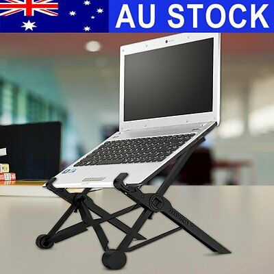 AU NEXSTAND Adjustable Portable Folding Laptop Notebook Desk Stand Mount Holder