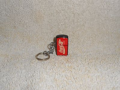 "Coca-Cola Miniature Lighter Keychain 1"" Tall"