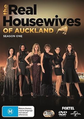 The Real Housewives Of Auckland : Season 1 (DVD, 2017, 3-Disc Set), NEW SEALED