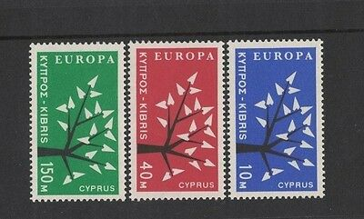 1963 Cyprus Europa Series SG 224/6 muh set of 3