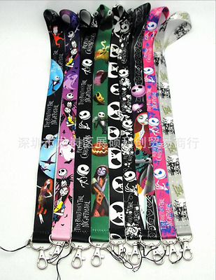 The Nightmare Before Christmas Neck Lanyard, ID card Key holder Strap