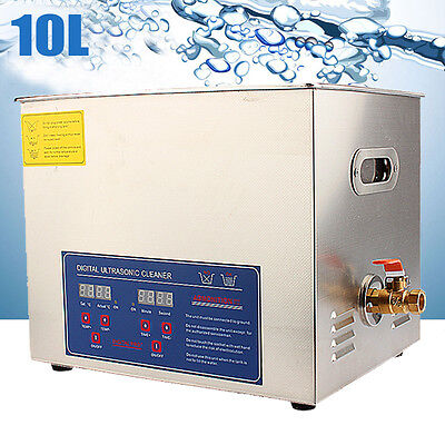 10L Digital Ultraschallreinigungsgerät Ultraschallreiniger Ultrasonic Cleaner LS