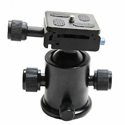New Heavy Duty Camera Tripod Ball Head with Quick Release Plate for DSLR Camera