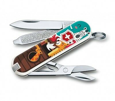 """Victorinox Pocket Knife """"The Ark"""" Classic Limited Edition 2017, 0.6223.L1703"""