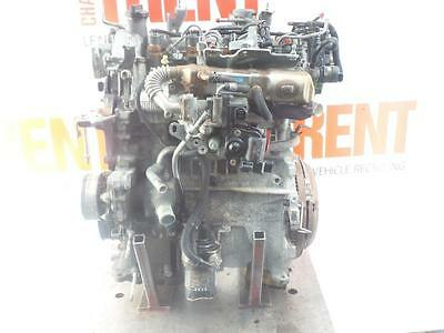 2007 TOYOTA YARIS 1ND-TV 1364cc Diesel Manual Engine with Pump Injectors & Turbo