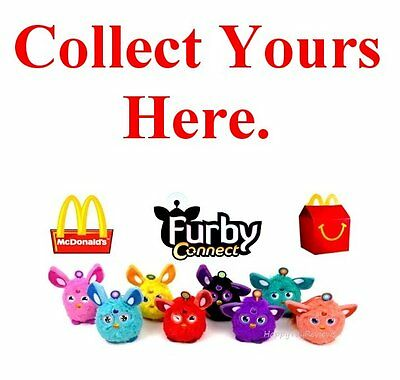2016 McDonalds Happy Meal Toys ~ FURBY CONNECT ~ Collect Furbies HERE!!