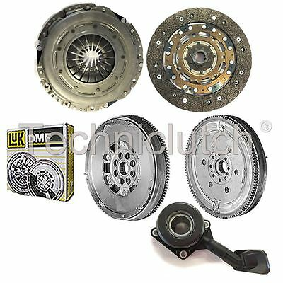 Clutch Kit And Luk Dual Mass Flywheel And Csc For Ford Focus C-Max Mpv 2.0 Tdci
