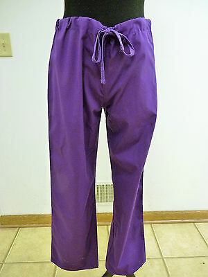 GelScrubs Unisex Drawstring Medical Scrub Pant #6558 Size XS to 5XL Many Colors
