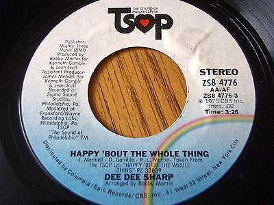 """Dee Dee Sharp - Happy 'bout The Whole Thing  7"""" Vinyl"""