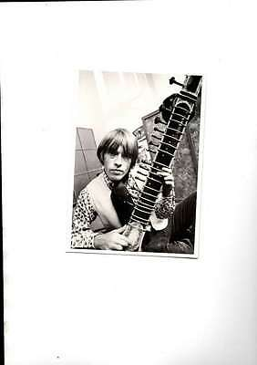 Rare Brian Jones Of The Rolling Stones Unsed Modern Postcard Mint