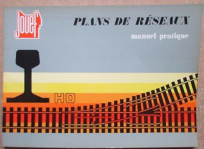 Catalogue Jouef Manuel Pratique Plans De Reseaux Ho Trains Rails Aiguillages
