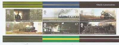 2004 Classic Locomotives Mini Sheet SG MS2423 Unmounted Mint (MNH)
