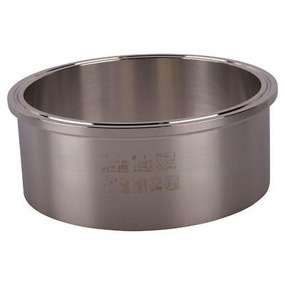"Tank Weld Ferrule | Tri Clamp 6"" x 63.5mm - Sanitary Stainless Steel SS304"