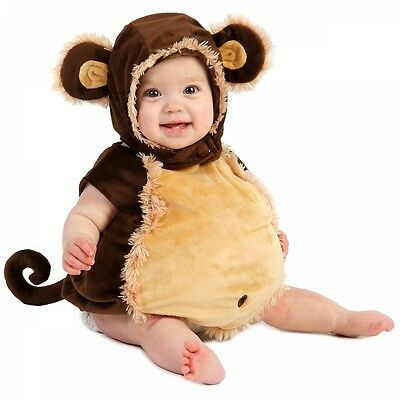 Baby Monkey Costume Infant/Toddler Outfit Halloween Fancy Dress