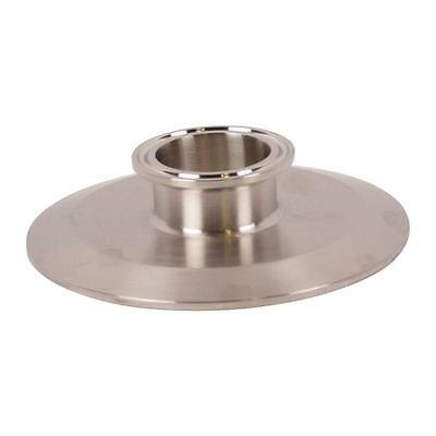End Cap Reducer   Tri Clamp/Clover 4 inch x 1.5 (1 1/2) - Sanitary SS304