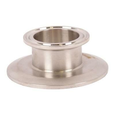 End Cap Reducer   Tri Clamp/Clover 2.5 (2 1/2) inch x 1.5 - Sanitary SS304