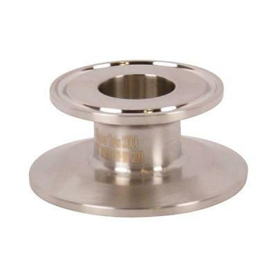 End Cap Reducer   Tri Clamp/Clover 2 inch x 1 - Sanitary SS304