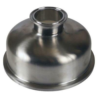 "Bowl Reducer | Tri Clamp 6"" x 2"" - Sanitary Stainless Steel SS304"