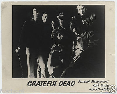 THE GRATEFUL DEAD Rock Group Set of 3 Record Company Promo Photographs reprints