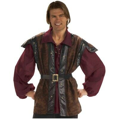 Medieval Costume Adult Mens Knight Game of Thrones Halloween Fancy Dress