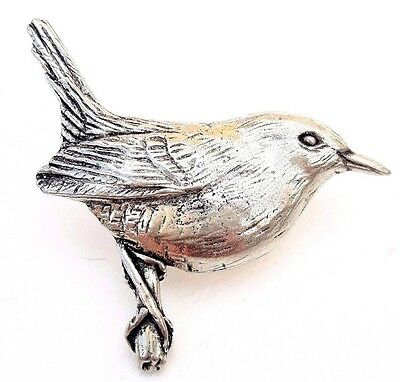 Pigeon Finely Handcrafted in Solid Pewter In The UK Lapel Pin Badge