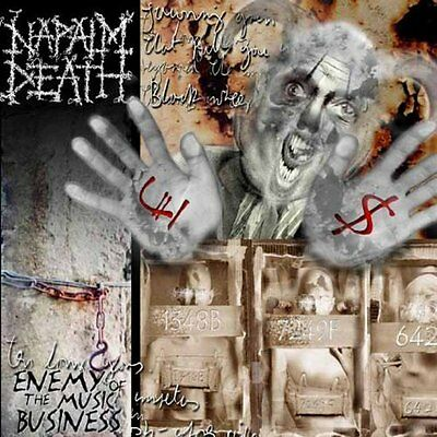 Napalm Death-Enemy Of The Music Business  (UK IMPORT)  VINYL NEW