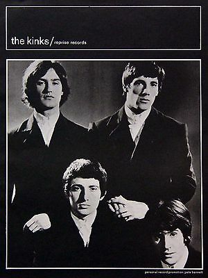 The Kinks Ray Davies Vintage & Rare Promotional Ads Collection