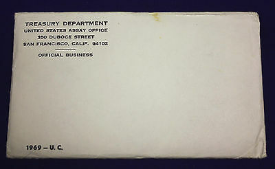 1969 UNCIRCULATED Genuine U.S. MINT SETS ISSUED BY U.S. MINT