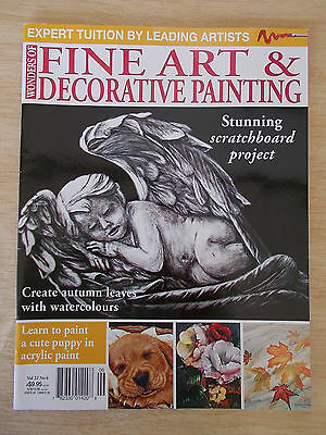 Fine Art & Decorative Painting Vol 22 #6~Angel~Puppy~Pelican~Leaves~Flowers...