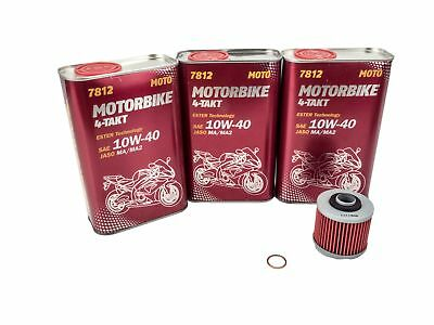 Oil + Oil filter Set Yamaha XVS250 DRAG STAR VG03 2001