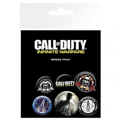 Call Of Duty Infinite Warfare Six Button Badges Set with Free UK P&P