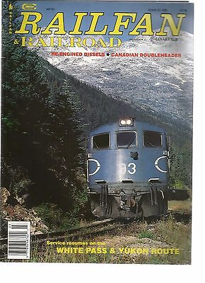 Railfan & Railraod 03-89 Re Engined Diesels / Canadian Doubleheader / White Pass