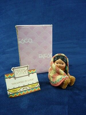 Enesco Friends Of A Feather Wraped In Love (A282)