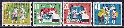 Germany B376-79 MNH OG 1961 Various Scenes From Fairy Tale Hansel and Gretel Set