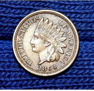 1864 C/N Indian Head Cent**FULL LIBERTY***Copper Nickel